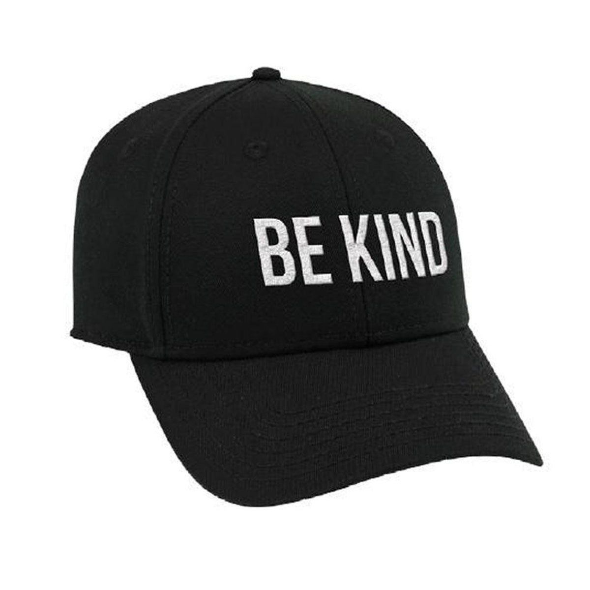 Be Kind Hat- Black