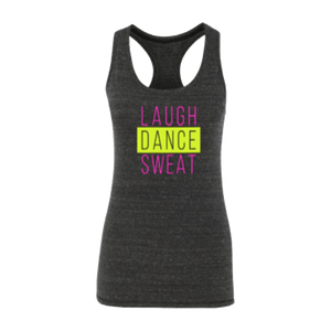 ellen Fit Tank-Dark Grey