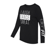 ellen degeneres show shop fit long sleeve t-shirt