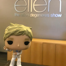 The ellen DeGeneres Show Shop- ellen Funko Pop! Figure- White- Front-With-Ellen-Office-Sign