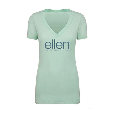ellen Mint V-Neck T-Shirt - Ellen Degeneres Show Shop