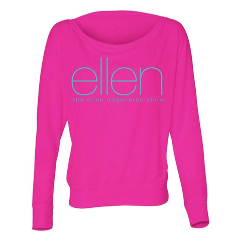 Ellen Long Sleeve Shoulder Shirt - Ellen Degeneres Show Shop - 1