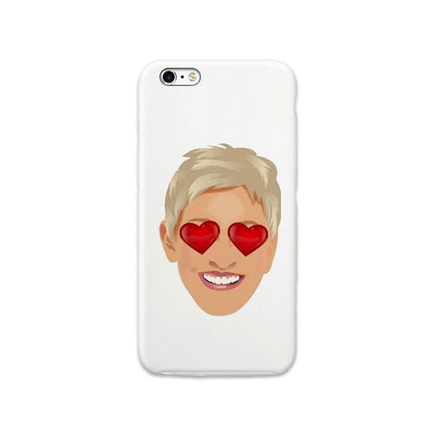 ellen emoji iPhone Silicone Case