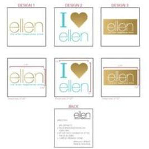 Ellen Show temporary tattoos