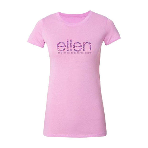 ellen Ladies' Pink Flower T-Shirt - Ellen Degeneres Show Shop