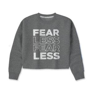 Fearless Cropped Sweatshirt