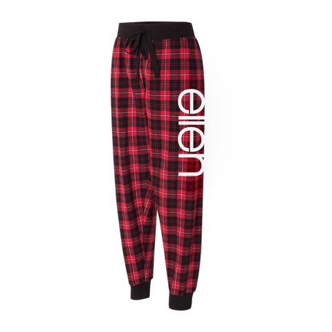ellen Holiday Flannel Lounge Pants