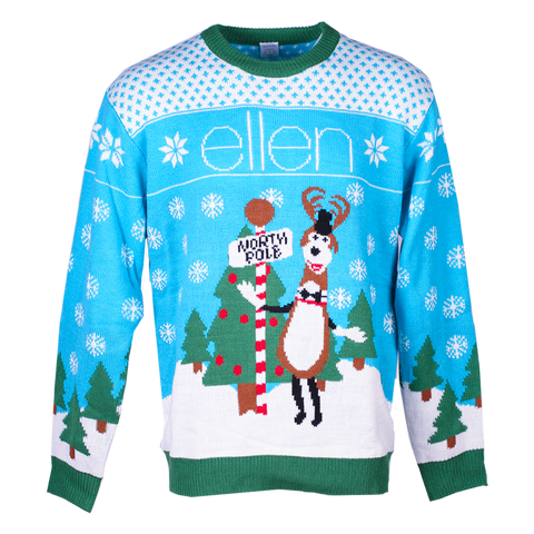 ellen Show S. 15 Holiday Unisex Festive Sweater