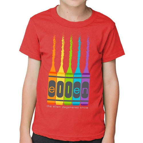 Kid's Red Crayon Tee - Ellen Degeneres Show Shop