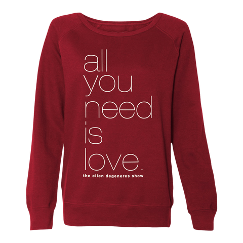 All you need is LOVE Sweater