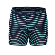 ellen Show Men's Boxers Mint Stripe