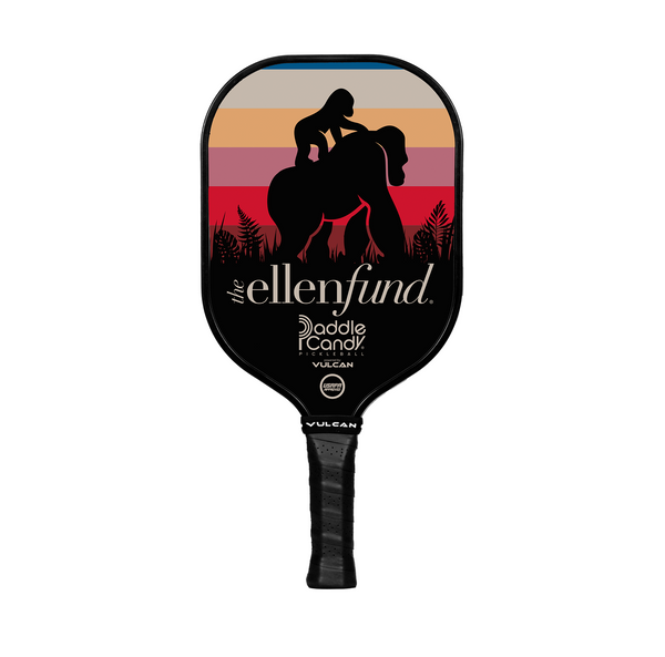 The Ellen DeGeneres Fund X Vulcan Pickle Ball Paddle - Black - front