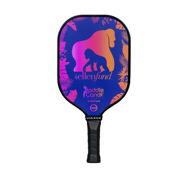 The Ellen DeGeneres Fund X Vulcan Pickle Ball Paddle - Purple - front