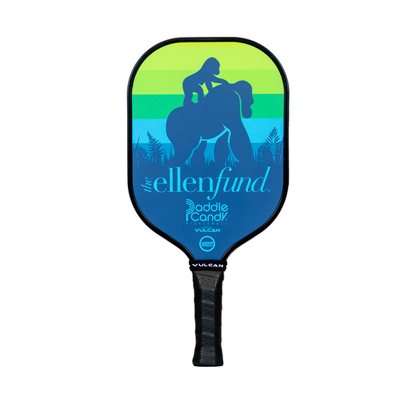 The Ellen DeGeneres Fund X Vulcan Pickle Ball Paddle - Teal - front
