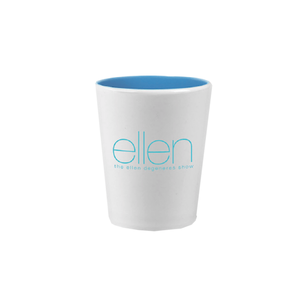 ellen Show Shot Glass