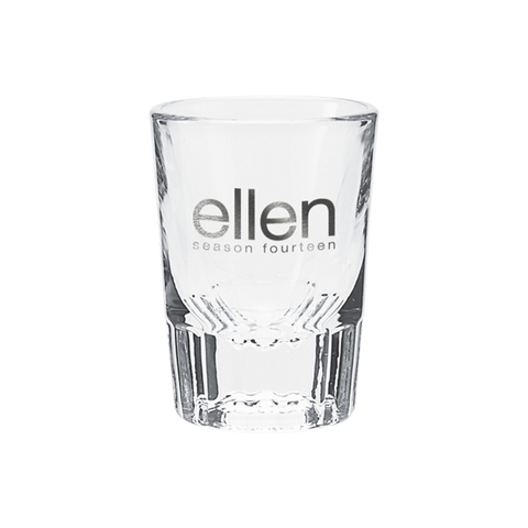 Ellen Show Season 14 Shot Glass