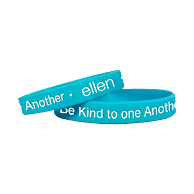 The ellen DeGeneres Show Shop- ellen Show Be Kind To One Another Bracelet - Blue- Front