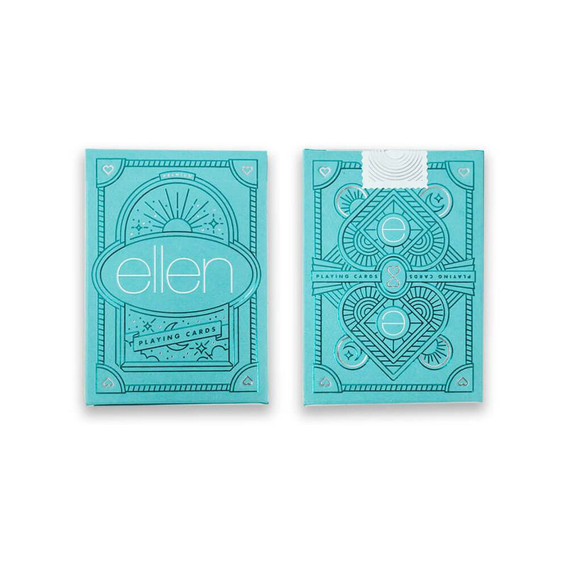 The ellen Degeneres show Shop- Be Kind. by ellen Playing Cards- Blue- Front-Both-Sides-Blue