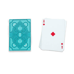 The ellen Degeneres show Shop- Be Kind. by ellen Playing Cards- Blue- Front-One-Side-Blue-One-Side-White