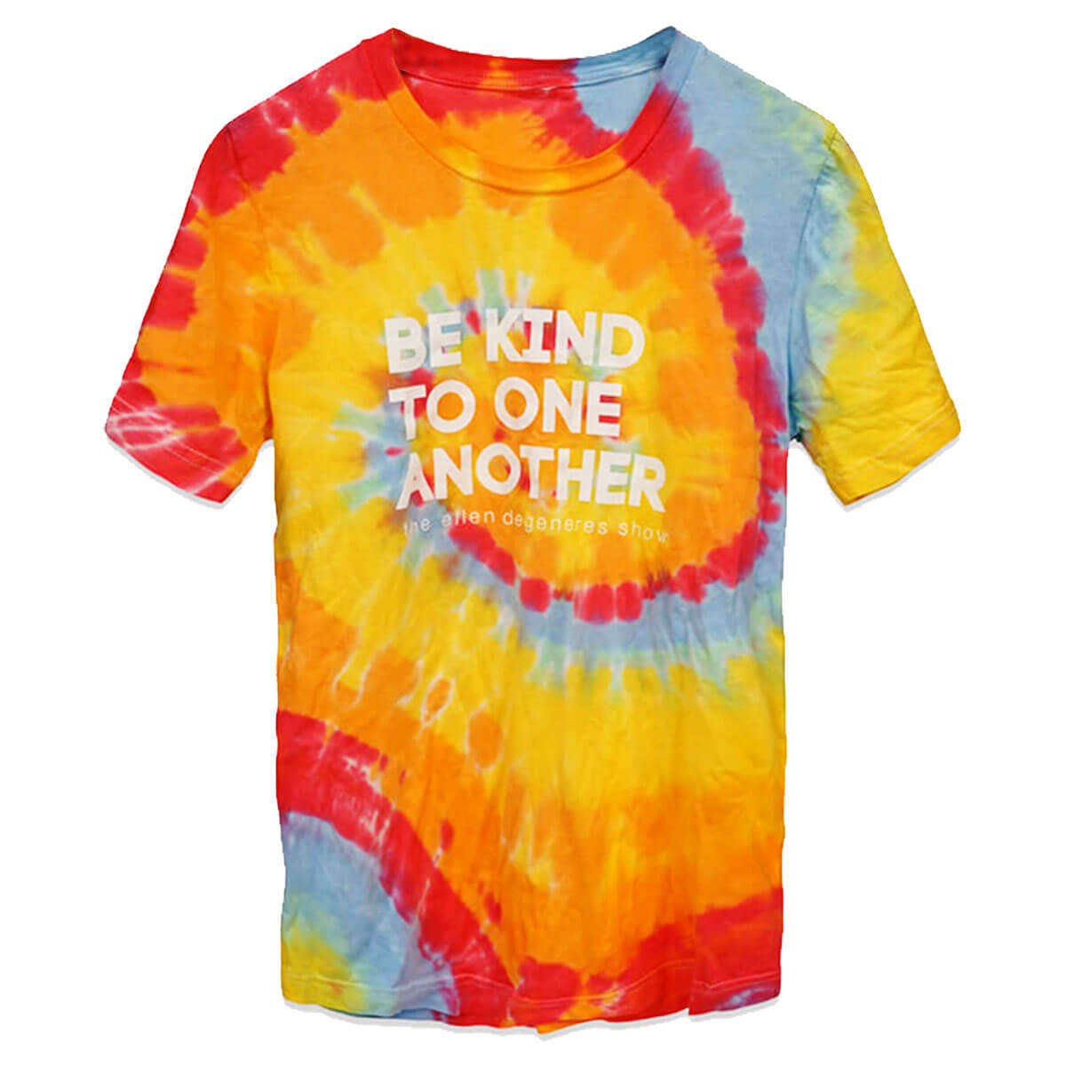 The Ellen DeGeneres Show Shop - Be Kind Tie Dye Tee - Multicolor - Front