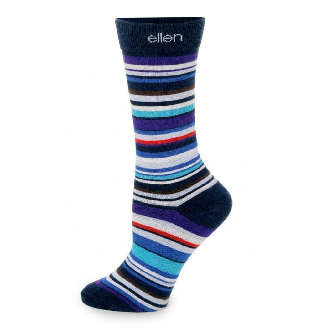 Socks - Multi Color Stripes - Ellen Degeneres Show Shop