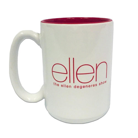 Official Ellen Show Mug-Red - Ellen Degeneres Show Shop
