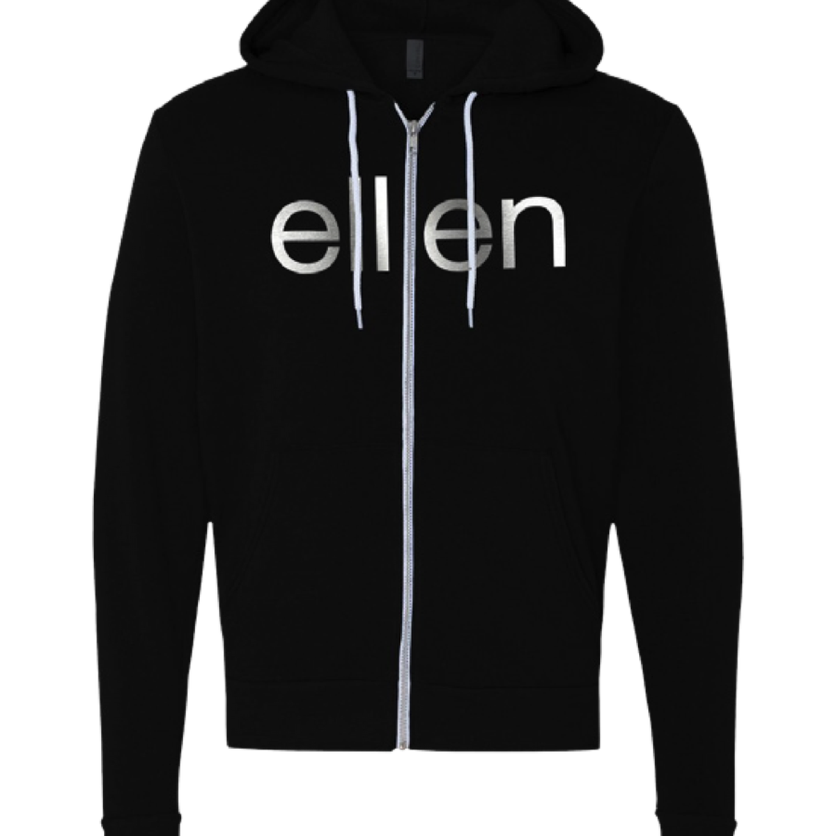 ellen Show Be Kind Zip Hoodie- Black