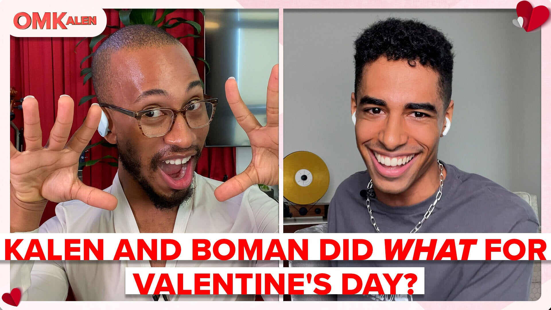 Boman Martinez-Reid & Kalen Go on a One-Sided Double Speed Date... with Who?