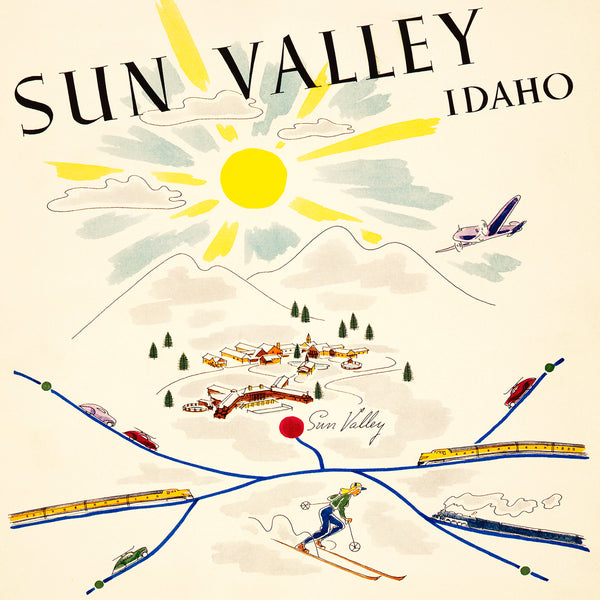 Sun Valley, Idaho - Union Pacific Railroad