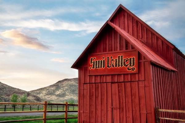 Sun Valley, Iconic Red Barn