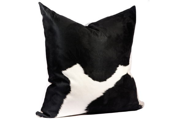 Black + White Cowhide | Faux Suede