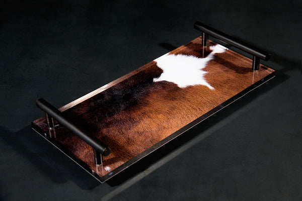 Brown | Black | White Cowhide