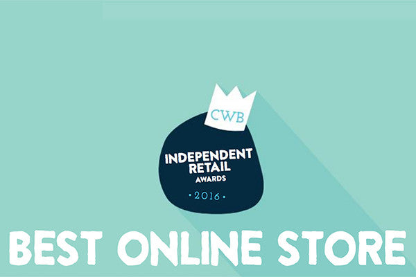 Independent Retail Awards 2016 * BEST ONLINE STORE*