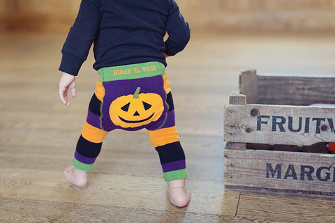 Pumpkin Baby Leggings | Funky Baby Leggings