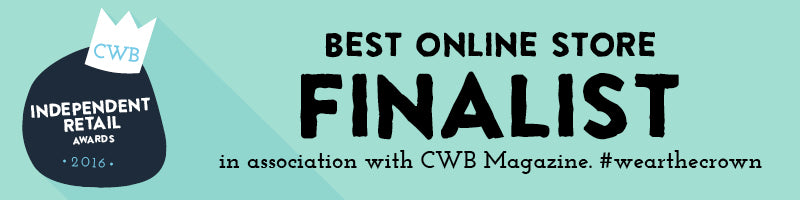 Crab and THe Fox, Best Online Store - FINALIST 2016 Banner