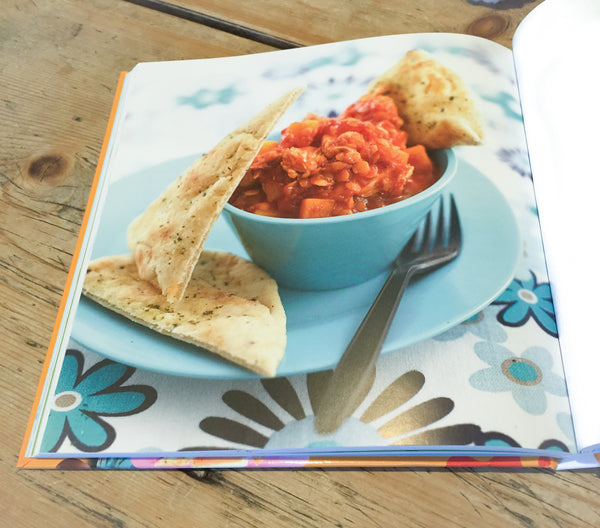 Recipe Book with Baby Curry