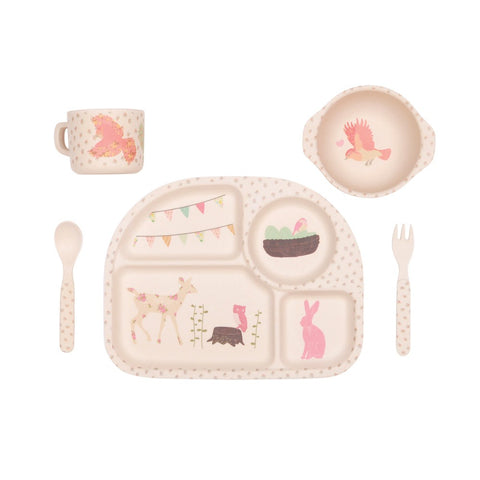 Woodland Tea Party Dinner Set