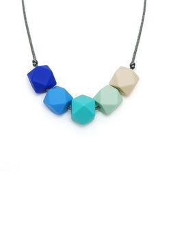 Alexa silicone teething necklace from Lara and Ollie | Crab and The Fox