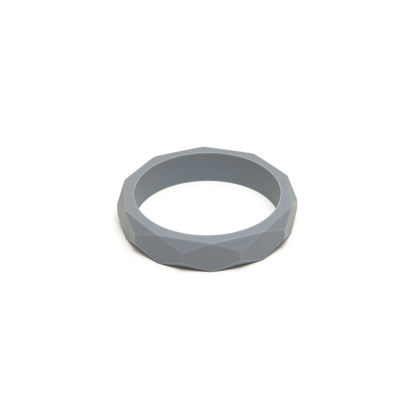 Grey Bangle - Silicone Teething Bracelet from Lara and Ollie