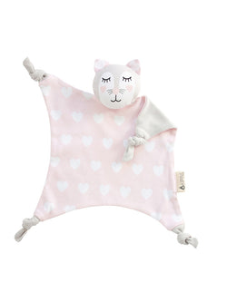 Kitty Kippin Cat Baby Comforter Front