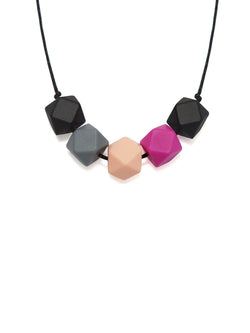 Ava silicone teething necklace from Lara & Ollie