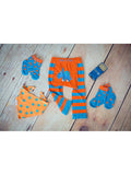 dinosaur baby leggings with matching socks