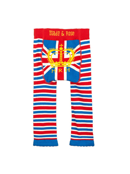 Union Jack Baby Leggings Back