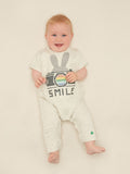 ELTON Unisex Sweatshirt Baby Playsuit - Bunny Camera