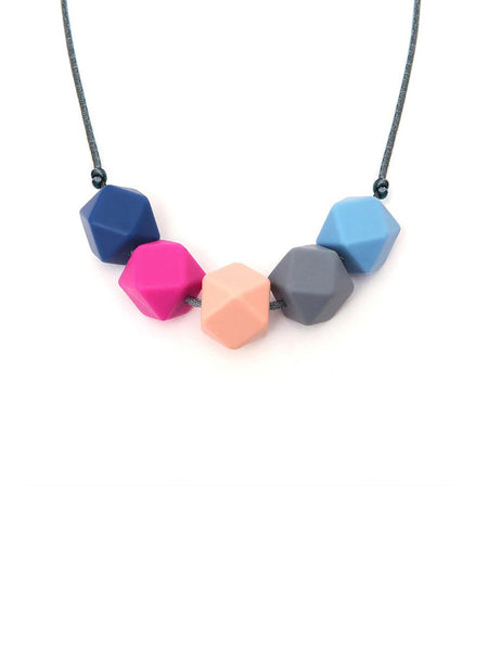 Emily Necklace - Lara & Ollie Silicone Baby Teething Necklace