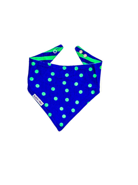 Monster Matching Reversible Bandana Bib