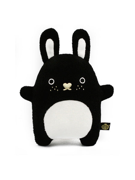 Noodoll Riceberry Plush Toy - Luxe - Black (Gold Nose)
