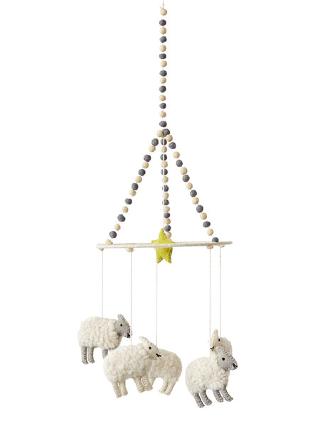 Counting Sheep Cot Mobile | Baby Mobile | Baby Mobiles