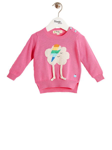 ZAPPA Unisex Baby Flash Cloud Sweater - Pink