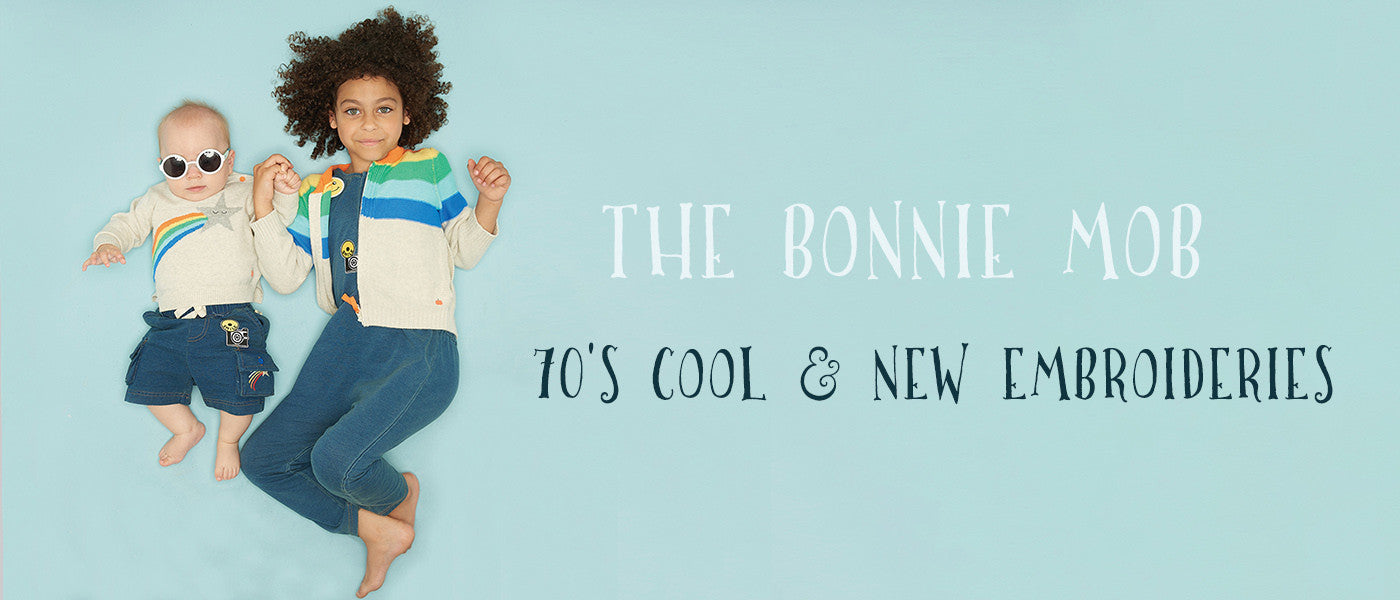 Smile new collection by The Bonnie Mob formerly Bonnie Baby